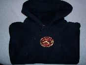 Embroided Hooded Sweatshirt